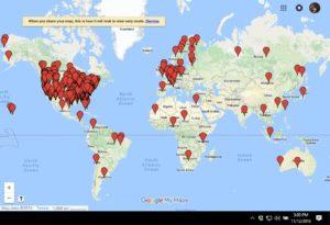 Customer's Map